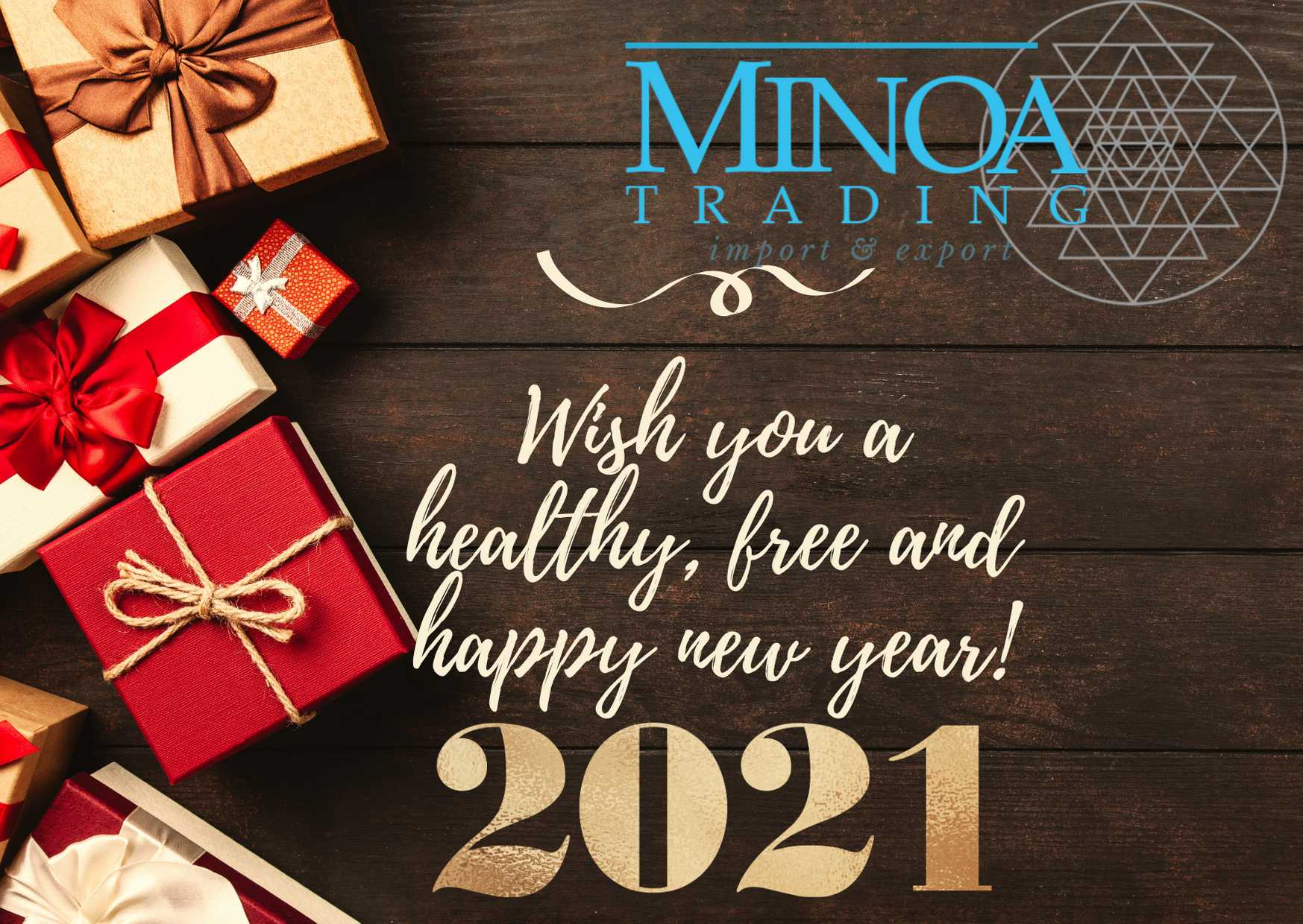 Happy and Healthy New Year! 2021